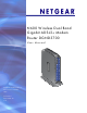 Netgear DGND3700v1 User Manual