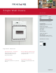 Frigidaire FEB24S5AB Product Specifications