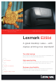 Lexmark 33S0305 Specifications