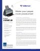 VISIONEER PATRIOT 430 Datasheet