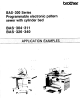 Brother BAS-300 Series Application Manual