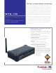 ViewSonic WPG-150 - Wireless Video Extender Specifications