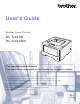 Brother HL-5440D User Manual