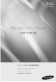 Samsung BDP1590 - Blu-Ray Disc Player User Manual