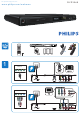 Philips DVP3560K/F8 Quick Start Manual