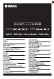 Yamaha Portatone PSR-1500 Data List