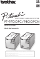 Brother P-Touch PT-9700PC User Manual