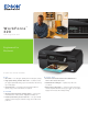 Epson WorkForce 320 Features And Benefits