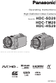 Panasonic HDC-TM20K8 Operating Instructions Manual