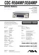 AIWA CDC-R504MP Service Manual