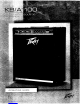 Peavey KB100 Operating Manual