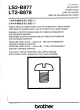 Brother LT2-B878 Parts Manual