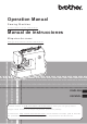 Brother Simplicity SB530T Operation Manual