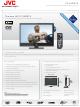 JVC LT-22DE72 Specifications