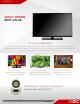 Vizio E390-A1 Data Sheet
