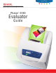 Xerox 6180N - Phaser Color Laser Printer Evaluator Manual