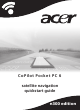 Acer CoPilot Pocket PC 6 Quick Start Manual