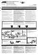 JVC KD-R530 Installation Manual