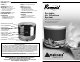Amaircare Roomaid Portable Air Filtration System Instruction Manual