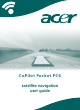 Acer CoPilot Pocket PC6 User Manual