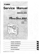 Canon PowerShot 350 Service Manual