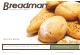 Breadman BK1050S Recipe Book