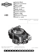 Briggs & Stratton 100000 Operator's Manual