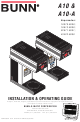 Bunn A10 Installation & Operating Manual