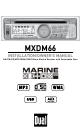 mxdm66_installation_owners_manual_1_thumb dual mxdm66 installation & owner's manual pdf download dual mxdm66 wiring diagram at edmiracle.co