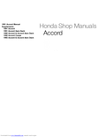 HONDA - Accord
