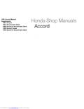 HONDA - Accord