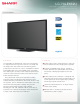 Sharp LC70LE632U Brochure