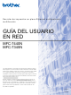 Brother MFC 7345N - Laser Multifunction Center Manual Del Usuario