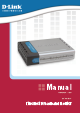 D-Link DI-604UP - Broadband Router Plus USB Print Server Product Manual