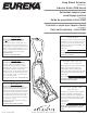 Eureka 2590 Series Owner's Manual