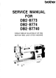 Brother DB2-B773 Service Manual