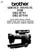 Brother DB2-B791 Service Manual