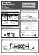 Sharp DK-A1H Quick Start Manual