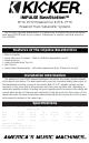 kicker impulse bassstation manual pdf 1