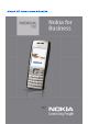Nokia E50 User Manual