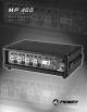 Peavey MP 400 Operating Manual