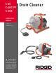 RIDGID K-40 Operator's Manual