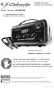 Schumacher SC-8010A Owner's Manual