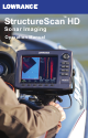 Lowrance StructureScan HD Operation Manual