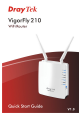 Draytek VigorFly 210 User Manual