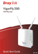 Draytek VigorFly 200 User Manual