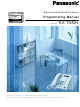 Panasonic KX-TA824 Programming Manual