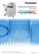 Panasonic DP-C266 Operating Instructions Manual