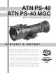 ATN PS-40 Operator's Manual