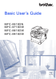 Brother MFC-8510DN Basic User's Manual